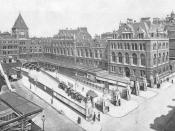 Liverpool Street station in 1896