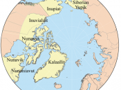 Map showing the members of the Inuit Circumpolar Conference.