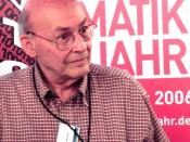 Marvin Minsky at the KI 2006 artificial intelligence conference in Bremen