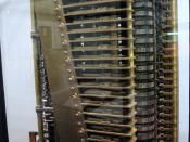 Modern model of Babbage's Analytical Engine
