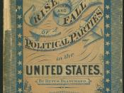 Rise and Fall of Political Parties in the United States