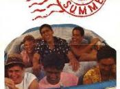 Film poster for Aloha Summer - Copyright 1988, International Spectrafilm