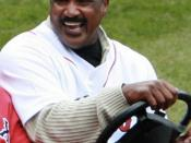 English: Jim Rice, Red Sox Opening Day, 2009.