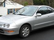 1994-2001 Acura Integra photographed in USA.