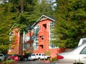 English: This is Juniper Hall at Humboldt State University.