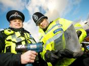 Day 9 - Marking metal to deter theft - West Midlands Police