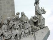 Monument to the Portuguese maritime discoveries (detail), Lisbon