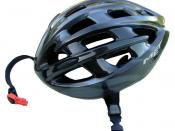 A bicycle helmet.