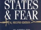 People, States and Fear