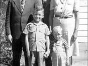 Earl & Eva Routh Family 1945