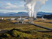 The Nesjavellir Geothermal Power Plant in Þingvellir, Iceland Français : La centrale électrique géothermique de Nesjavellir, à Þingvellir, en Islande. Magyar: A Nesjavellir Geotermikus Erőmű (Þingvellir, Izland)
