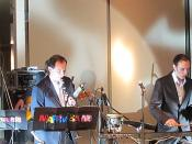 English: Russian free jazz band 'Marimba Plus'