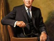 Dwight D. Eisenhower, official portrait as President.