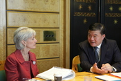 US China Bilateral at World Health Assembly 2