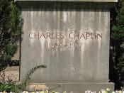 English: These are the graves of Charles Chaplin and Oona Chaplin, his wife, in the graveyard of Corsier-sur-Vevey, Switzerland. Français : Voici les tombes de Charles Chaplin et Oona Chaplin, sa femme, dans le cimetière de Corsier-sur-Vevey, en Suisse.