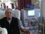English: Patient receiving dialysis. 中文(繁體): 正在接受血液透析的病患。