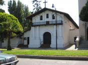 Mission Dolores. San Francisco Mission District. The oldest surviving building in San Francisco.