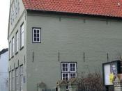 Deutsch: Stormhaus in Husum Fotografiert von Bernd Untiedt am 06. März 2004