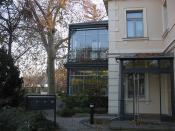 Villa Augustin - mein Bürofenster