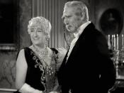 English: Constance Collier & C. Aubrey Smith in Little Lord Fauntleroy - cropped screenshot