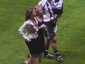 English: Alan Shearer and his family at his Testimonial Match