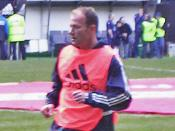 English: Personal photo of Alan Shearer, taken on March 13th 2005. Cropped and uploaded for use on the Shearer Wikipedia article.