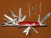 English: Victorinox SwissChamp army knife Nederlands: Victorinox SwissChamp zakmes