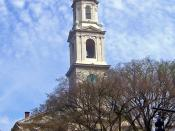 First Baptist Meetinghouse in Providence, RI, USA