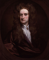 Sir Isaac Newton, by Sir Godfrey Kneller, Bt (died 1723). See source website for additional information. This set of images was gathered by User:Dcoetzee from the National Portrait Gallery, London website using a special tool. All images in this batch hav