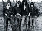 The Ramones' 1976 debut album laid down the musical