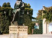 Estátua do Infante Dom Henrique em Tomar