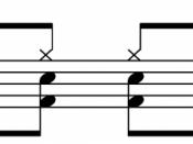 Blast beat drum pattern About this sound Play ( help · info ) .
