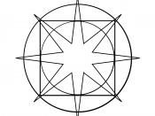 English: This is a Magic Grace Symbol that I drew based on the multiple descriptions from the Sword of Truth Series by Terry Goodkind.