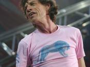 Mick Jagger - The Rolling Stones live at San Siro Stadium, Milan, Italy - june 10th, 2003