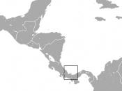 English: Pygmy Three-toed Sloth (Bradypus pygmaeus) range