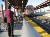 San Jose Diridon Station Track #3