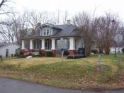 English: Alex Haley boyhood home and memorial in Henning, TN (Dec. 2007).