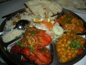 Indian food set