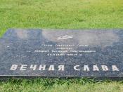 Grave of Vasiliy Zaitsev, Mamayev Kurgan