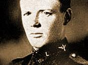English: Graduation photo of 2nd Lt. Charles A. Lindbergh, USASRC, March, 1925