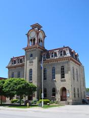 English: Wingham, Ontario town hall
