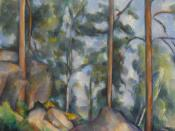WLA moma Paul Cezanne Pines and Rocks