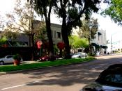 Grand Avenue, Downtown Escondido. Photo taken by David McGovern