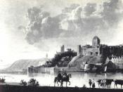 Nederlands: Volgens de naam van deze afbeelding is deze gemaakt door Aelbert Cuyp, 1620-1691, dat is op zich voldoende aanwijzing voor PD-oud. Echter ook het onderwerp is sinds 1796 niet meer bestaand, dus blijft weinig anders als PD-oud meer over.