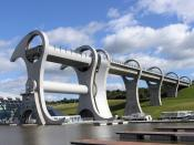 Falkirk Wheel Side 2004.