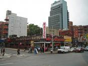 English: the Katz's Delicatessen Restaurant from