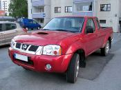 English: Nissan Frontier 2.5Di pick-up truck.