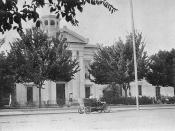 Colusa County Courthouse, Colusa, California, USA