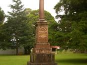 English: Monument to David Berry, a good landlord of what's today Berry, NSW