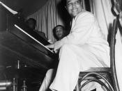 Buck Clayton wrote that Duke Ellington threw parties at the Dunbar with